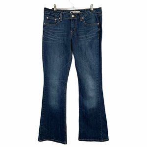 Levi's 518 Superlow Dark Jeans 7 30x31
